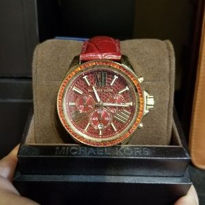 MK WATCH RED WREN